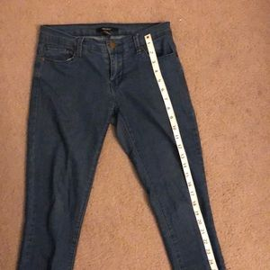 Dark/Medium Blue Skinny Jeans